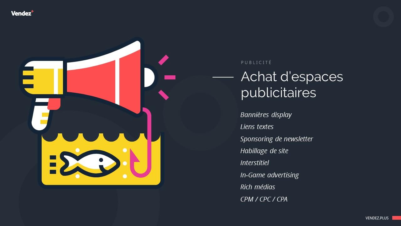 Achat d'espaces publicitaires : les différentes offres