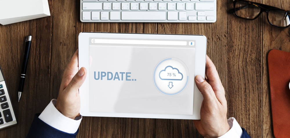 Avantages du cloud - Mises à jour