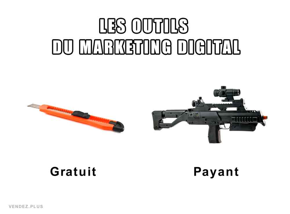 Meme outils marketing digital